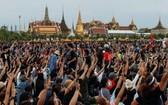 示威者於曼谷皇家田廣場集會。(圖源:互聯網)