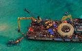 跨海供電工程施工並不容易。