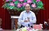 政府總理阮春福出席會議。(圖源:統一)