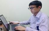 裴廷維希望通過傳媒設計能把越南產品走出世界。