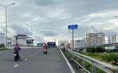 從本月3日至2021年3月29日,禁止各種車輛駛進阮友景高架橋。(圖源:VNN)