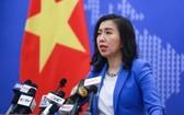 越南外交部發言人黎氏秋姮。(圖源:曰盛)