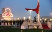 中國國慶升旗儀式在天安門廣場舉行。(圖源:新華社)