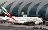 圖為阿聯酋航空客機。(圖源:AFP)