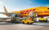 圖為越南DHL Express快遞專用飛機。(圖源:耀基)