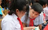 培養小學生熱愛閱讀。