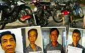 被捕的偷車銷贓團夥及涉案物證。(圖源:人民公安報)