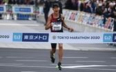2021年東京馬拉松宣傳圖。(圖源:互聯網)