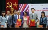 越南跆拳道聯合會公佈了與越南-韓國文化中心的合作協議。(圖源:互聯網)