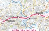 市交通運輸廳建議在2021年至2025年階段投建五號高架路。