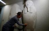 德國柏林博物館島多件藝術展品受到破壞。(圖源:澎湃影像)