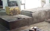圖為事發現場的肇事沙井。(圖源:晉泰)
