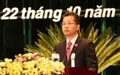 阮文廣同志當選峴港市委書記。(圖源:清心)