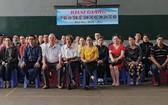 2020-2021學年度第十三屆華人學生越文語文免費培訓班開課儀式。