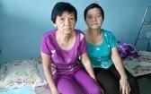 吳健美(左)與妹妹吳健冰都患病在身。