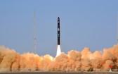 11月7日15時12分,谷神星一號運載火箭在中國酒泉衛星發射中心成功首飛,並順利將天啟星座十一星送入預定軌道。(圖源:新華社)