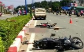 車禍現場。(圖源:VTC News)