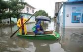 圖為受災後的墨西哥塔巴斯科州。(圖源:Milenio)