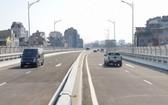 河內環市2路高架橋路於昨(9)日正式投入運行。(圖源:南慶)