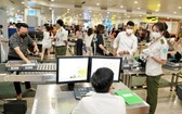 機場安檢區容易發生錯拿、竊盜財產事件。(示意圖源:NIA)