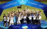 Viettel足球俱樂部首次奪得冠軍。(圖源:互聯網)