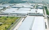位於市高新技術園區的三星廠一瞥。