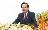 勞動與榮軍社會部部長陶玉蓉在會上致詞。(圖源:志心)