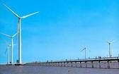 圖為滀臻省三號風力發電廠項目。(圖源:互聯網)