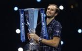 梅德韋傑夫獲得ATP年終總決賽冠軍。(圖源:互聯網)
