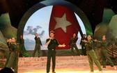 歌頌祖國及軍隊的文藝節目。