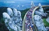 峴港黃金橋。(圖源:英武)