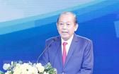 政府常務副總理張和平出席會議並發表指導意見。(圖源:越通社)