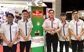 大學生組與榮獲第一獎產品。