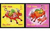 """""""辛丑年""""郵票票樣。(圖源:新聞與傳播部)"""