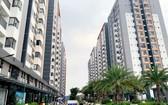 第九郡一個未獲簽發證書的公寓項目。