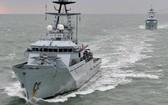 英國海軍漁業保護艦。(圖源:互聯網)