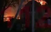 當地時間15日凌晨2時53分,俄羅斯巴什科爾托斯坦的一處養老院發生火災,導致11人不幸身亡。(圖源:互聯網)
