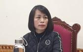 河靖省內務廳長潘氏素華回答記者訪問。(圖源:友英)