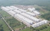 LDG投資股份公司在新盛民居區違建的上百間住房。(圖源:V.H)
