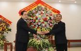 陳清敏同志向寧平教區祝賀聖誕