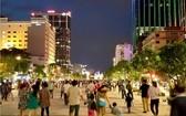圖為阮惠步行街一瞥。(圖源:垂楊)