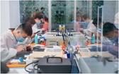越南小米公司在本市第一郡開設的首個保修中心。(圖源:互聯網)
