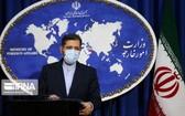 伊朗外交部發言人哈提卜扎德11日敦促英國、法國和德國恢復履行伊朗核問題全面協議義務。(圖源:伊通社)