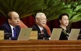 黨政領導出席會議。(圖源:VGP)