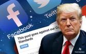 臉書已悄悄恢復了特朗普的臉書主頁以及Instagram賬戶。(圖源:互聯網)