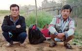 非法入境的兩名男子。(圖源:尋嶇)