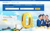 Vietravel Airlines 機票今起開售。(圖源:網站截圖)
