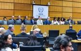 2019年7月10日,國際原子能機構理事會在奧地利維也納舉行特別會議,審議伊朗執行伊核問題全面協議相關問題。(圖源:新華社)