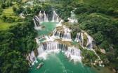 高平省的板約瀑布。