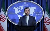伊朗外交部發言人哈提卜扎德。(圖源:Getty Images)